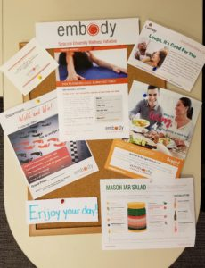 Wellness Bulletin Board