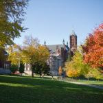 Photo: Fall Campus Crouse Maxwell Exterior