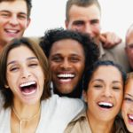 Photo: People laughing