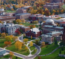 View of the University campus in the fall