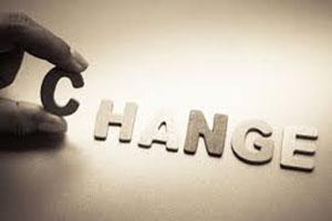 The word change