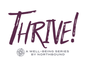 Thrive well-being series logo