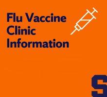 Flu vaccine clinic information